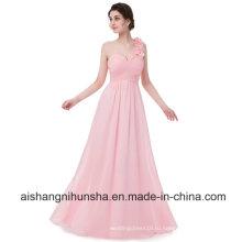 Женщины Без Рукавов Шифон Сексуальное Вечернее Платья Невесты