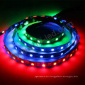 rgb ws2812b 60 leds / m pixel digital led tira de luz direccionable Magic dream full color
