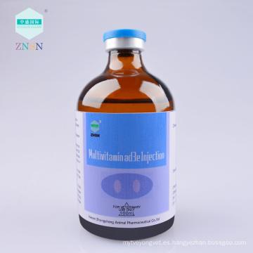 Inyección de multivitaminas ad3e