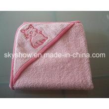 Toalla de baño con capucha para bebés Customed (SST0305)