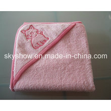 Customed Baby Hooded Bath Towel (SST0305)