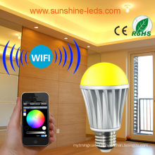 2014 New Launched 7W RGB/Warm White LED Bulb