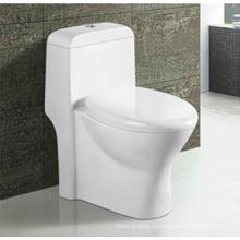 Heißer Verkauf Badezimmer Keramik Siphonic einteilige Toilette