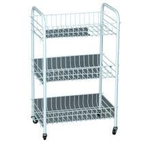 bathroom storage cart and trolley rack