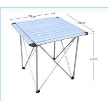 Outdoor Camping Folding Tables and Chairs Aluminum Table, Small Portable Table