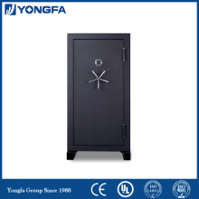 Fireproof gun safe reconfigurable electronic mechanical locks