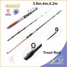 TRR001 aparejos de pesca chinos barra de pesca de alto carbono blanks varilla de la trucha