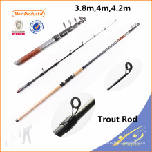 TRR001 Chinese fishing tackle high carbon fishing rod blanks trout rod
