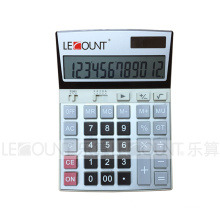 12 Digits Medium Size Dual Power Office Calculator (LC207)