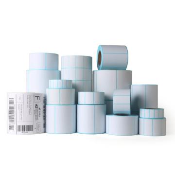 Custom blank self adhesive thermal label roll