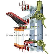 Interruptor de interrupción de carga de la unidad combinada de fusibles con cuchilla de puesta a tierra-Yfn5-12r (T) D / 125-31.5