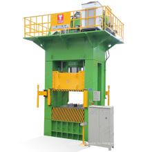 Гидравлический пресс для прессовки металлов давлением 800 тонн