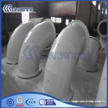Personalizado de alta presión de pared doble tubo corrugado para draga (USC6-005)