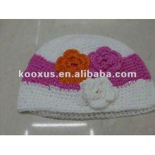 Детские шапки вязания крючком вязание крючком шапочка вязание крючком колпачок девушки для малышей стрейч-шапки