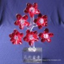 Crystal Flower, Glass Flower, Decoration Flower Crystal Flower Present