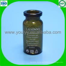 Frasco de vidrio farmacéutico (1-35ml)