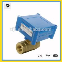 """CWX-1.0A 2 voies G1 / 4 """"DC3-6V motorisé Vanne On-Off pour mini système de contrôle automatique de débit d'eau"""