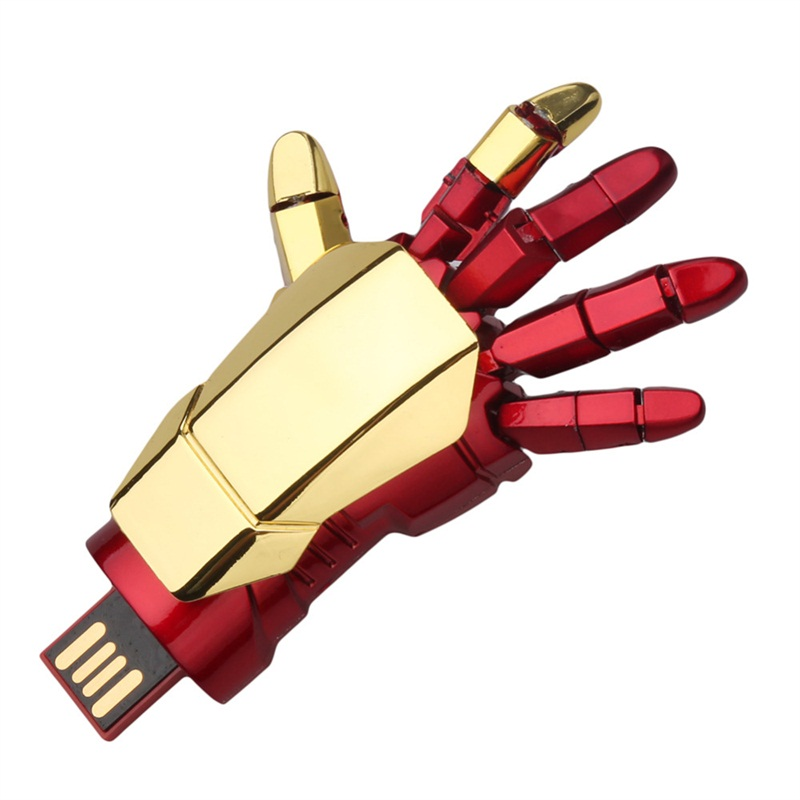 Fashion Iron Man Hand Usb