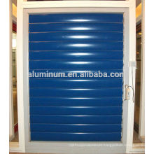 Electric aluminum shutter window