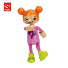 New Arrival Wholesale Kids Wooden Baby Doll Toys,Modern Family-Younger Daughter