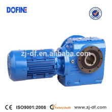 S series 90 degree shaft gearmotor helical worm gear reducer drive