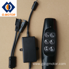 Linear actuator control kit for sofa