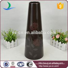 H40cm modernos vasos cerámicos baratos de decoración