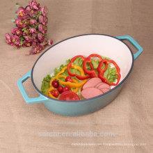 Neuer Customized Houshold Kochgeschirr Oval Eintopfgericht Dish