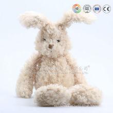 Projeto dos desenhos animados de coelho de brinquedo de pelúcia atacado e fofo coelho brinquedos