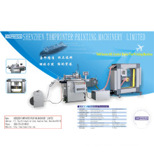 Máquina de impresión de la pantalla de rollo a rollo de etiqueta TAM-Zm automático marca con secador IR