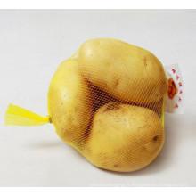 Sac en filet extrudé en plastique pour fruits et légumes