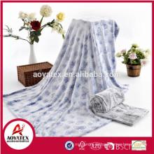 hochwertige super weiche neue Muster geprägt Flanell Fleece Decke