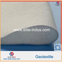 Geotêxtil não tecido de alta elasticidade do polipropileno da força