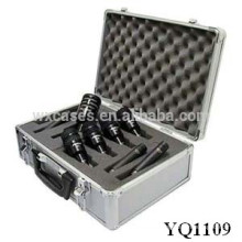 strong and portable aluminum case with foam padding inside