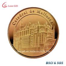 Reto Metal oro monedas monedas conmemorativas /Mark