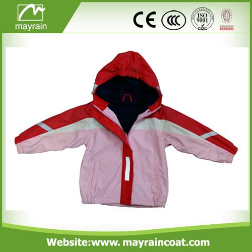 Lovely PU Raincoat for Child