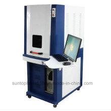 Machine de marquage au laser à fibre 20W pour code à barres, marquage de la plaque signalétique, type standard européen