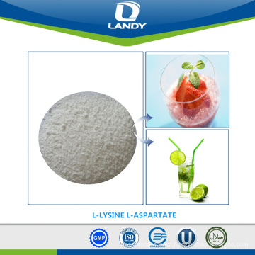 TOP SALE FOOD GRADE POWDER L-LYSINE L-ASPARTATE
