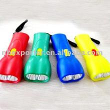 BT-1017 mini linterna de plástico