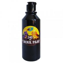 Peinture en doigt de couleur en bouteille 240ML
