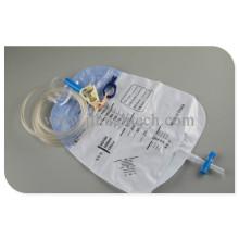 Sistema de cateterismo de bolsa de catéter urinario de dispositivos médicos