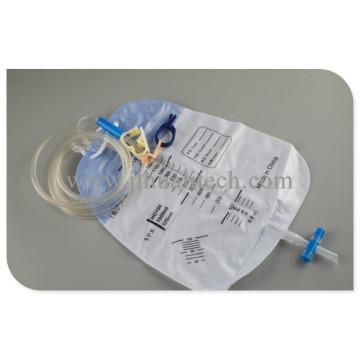 Système de cathétérisme de sac de cathéter urinaire de dispositif médical