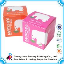Alibaba China duro plegable negro regalo pequeño caramelo caja personalizada