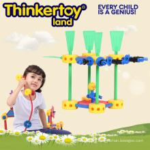 DIY пластиковые игрушки образования для ребенка DIY пластиковые строительные блоки