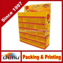 Cardboard Corrugated Pallet Rack Display (6124)