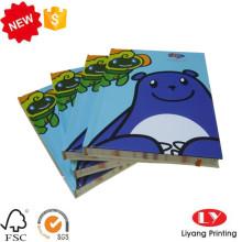 Luxus-Kinder-Hardcover-Notizbuch mit Gummiband