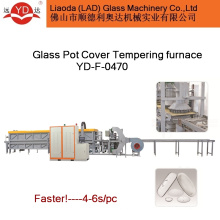 Hot Sale Glass Pot Lids Tempering Furnace Machine Glass Tempered Oven