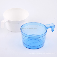 inflight disposable plastic cup with handle