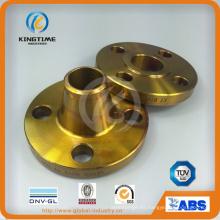 Brida forjada A105n del reborde del cuello de la soldadura del acero de carbono de ASME B16.5 (KT0311)