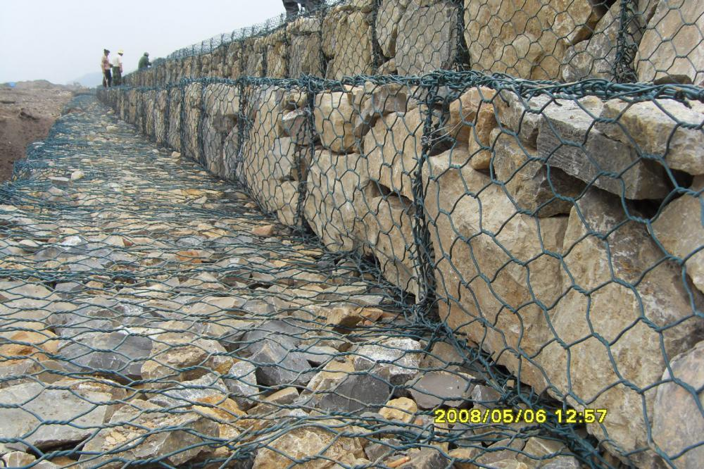 gabion retaining wall